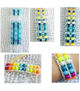 Loom Band Color Changing in UA+ Beads